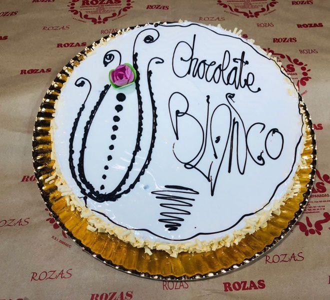 Tarta de Chocolate Blanco | Panadería Rozas